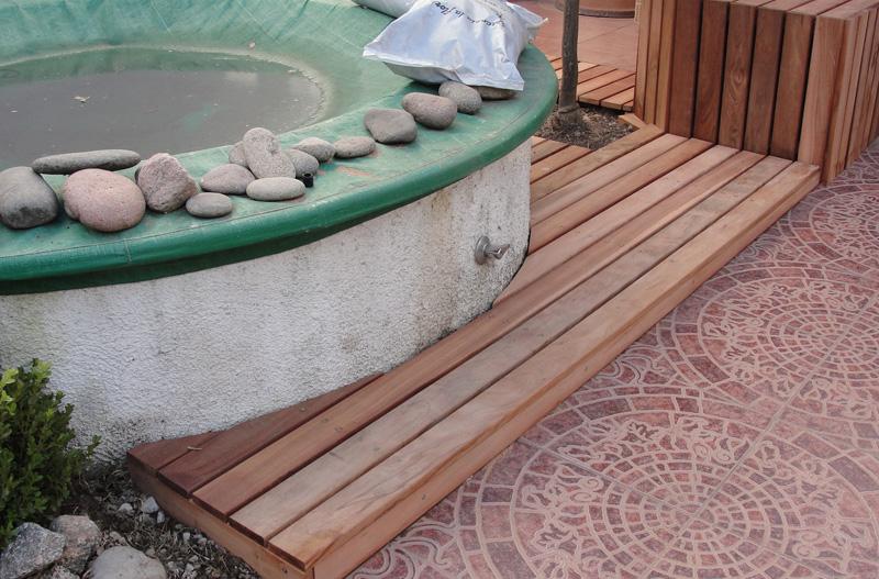Decks de madera precios decks de madera para exteriores for Mantenimiento jacuzzi exterior