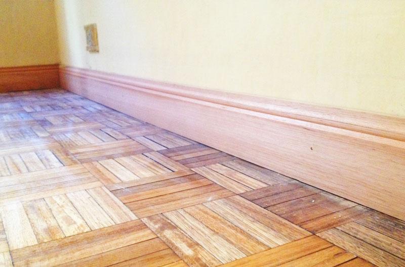 Zocalos de madera para pared trendy en fustes gilabert for Zocalos de madera leroy merlin